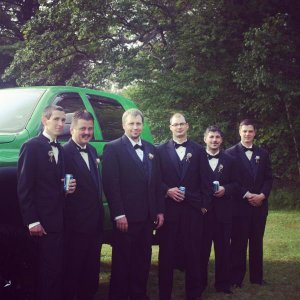 Oh yeah, my truck was in my wedding:)